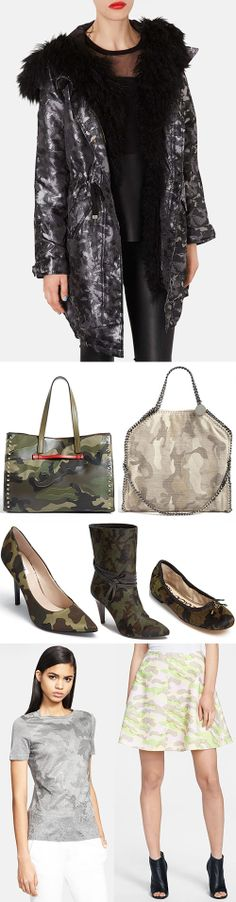 2014 Trend: Camouflage Style / dont love it but its a trend..
