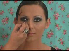 1920s Flapper/Cabaret Makeup for Halloween- Ask Me Makeup