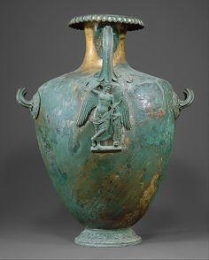 Etruscan bronze water jar C.400 B.C