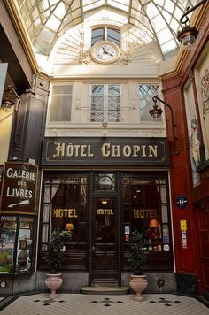 L'Hôtel Chopin, Paris