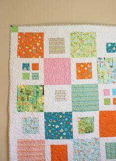 Pretty quilt design.