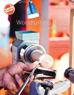 Learn to turn! Check out Craftsy's FREE beginner's PDF eGuide to woodturning, full of expert tips and tricks, and start woodturning today!