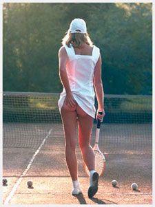 Martin Elliott's Tennis Girl