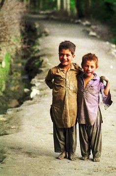 Pakistan - kids from all over the world.