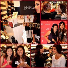 Brunch & Baubles! Our Sephora South Coast Plaza #VIBRouge clients got VIP treatment from @Sephora and @BaubleBar at an exclusive Rise and Rouge event. #RougeLife