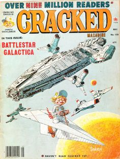 May 1978 John Severin cover, from BEFORE Battlestar Galactica was cool.