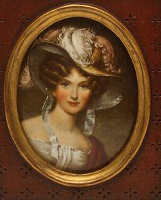 Oval Miniature Portrait