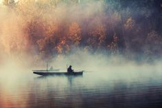 Fog & fishermans by Nemanja Jerkov, via 500px