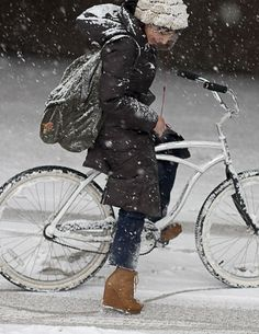 Biking in style