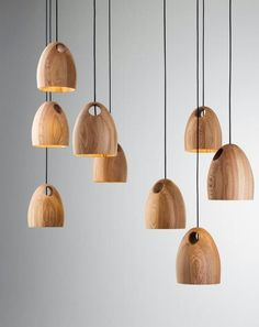 Oak pendant   Ross Gardam