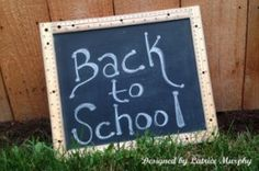 Bring the Classroom Home with a DIY Chalkboard Craft from @Latrice Gray Murphy