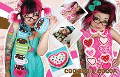 Twinkie Chan - cute patterns twinkie chan, cup, twinki chan, pattern, teas, scarves, diy project, tea scarf