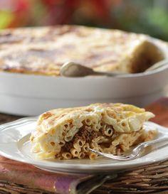 Pastitsio | Greek Food - Greek Cooking - Greek Recipes by Diane Kochilas