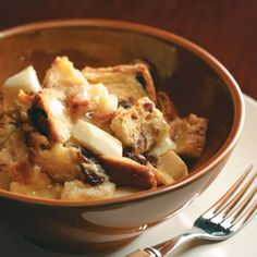 Bread Pudding Recipes from Taste of Home, including Apple-Raisin Bread Pudding
