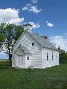 Old Church outside of Saskatoon, Saskatchewan