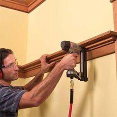 how to install shelf rail