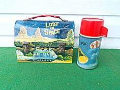 1960's Lost in Space Lunch Box w/Thermos