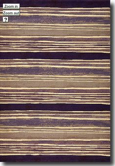 Bold, dramatic and intense! These are words that come to mind when looking at the Pissarro rug collection. Purple, beige and a range darker tones blend in abstract combinations within this collection. It is for those who wish to make a bold statement. The pile is densely textured and durable!   http://bit.ly/ypluvX