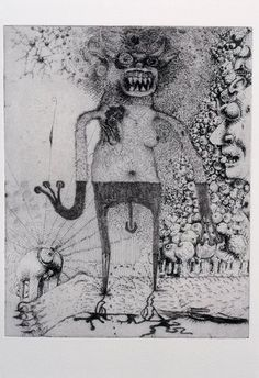 Jake & Dinos Chapman, Exquisite Corpse (Rotring Club) III, 2000-01, Etching ...    ex-chamber-memo3.seesaa.net