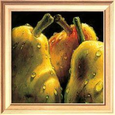 Pears Print at Art.com