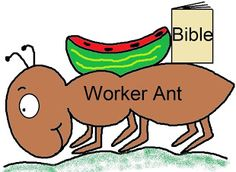 """#Sunday #School #Crafts """"Let's Be Like An Ant"""""""