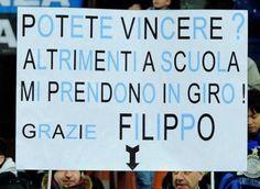 Striscione #Inter