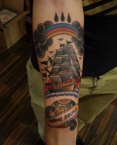 By Steve Boltz at Smith Street Tattoo Parlor