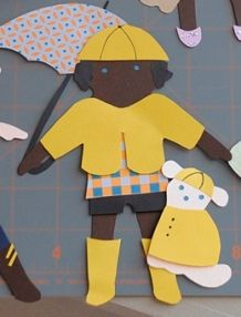 Learn to get dressed, use a paper doll as a visual- could even use a favorite character.