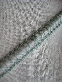 sew a straight line: Serger Saturday: Flatlock Stitching
