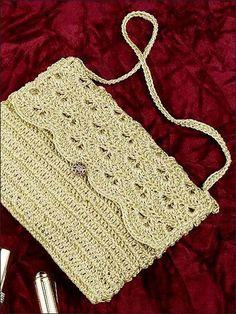 Evening Purse free crochet pattern