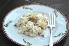 the German version of the famous Waldorf salad - apple celery salad - original German recipe.