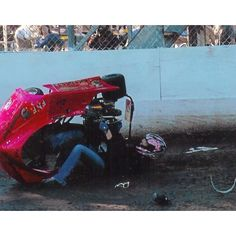 racing accident