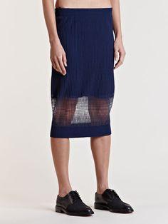 Lucas Nascimento Women's Sheer Degrade Skirt