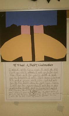 fairi godmoth, writing prompts, fairy tales unit, fairy godmother, writing centers
