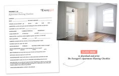 EveryGirl guide to apartment hunting