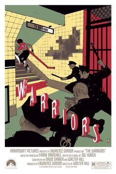 Warriors poster, by Tomer Hanuka