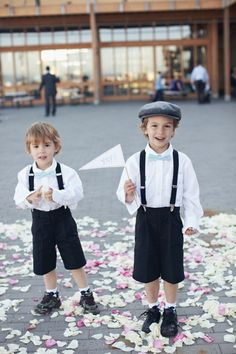 suspenders for ring bearers!