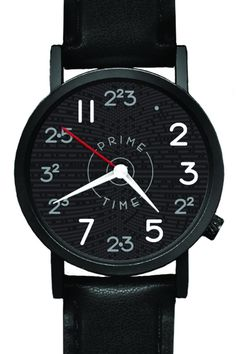 PRIME TIME WATCH by UNEMPLOYED PHILOSOPHERS GUILD @ Jack Threads #geek #math #funny