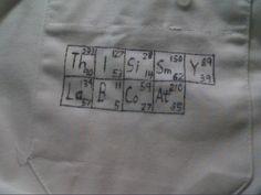 Lab coat art.