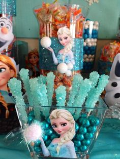 Disney Frozen Birthday Party - Maybe we'll play the movie while we entertain at home - or - host it at the local ice skating rink!