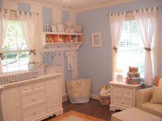 Traditional baby boy nursery