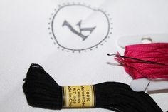 Using a Stamp to Embroider