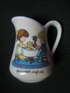 Vintage 1976 Joan Walsh Anglund Small Pitcher Girl by kookykitsch, $12.00