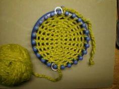 socks: Knifty Knitter Circular Loom Socks 03