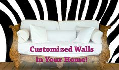 Design your own Wallpaper and easy DIY Wall Murals from www.custo...