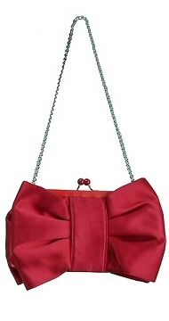 LOVE MOSCHINO On Pinterest | Moschino Bow Clutch And Red Satin