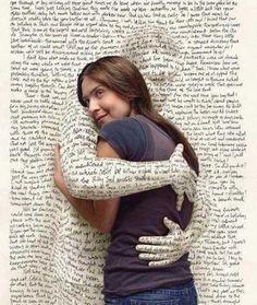 book hug.