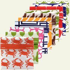 reusable sandwich bags.