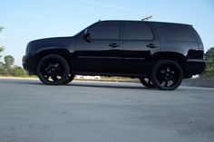 Blacked out Tahoe - wow. Have you seen the 2012/2013 Tahoe? www.warrentonchevrolet.com