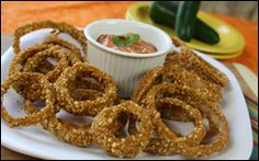 Hungry Girl queso queso dip, onion rings, dip recipes